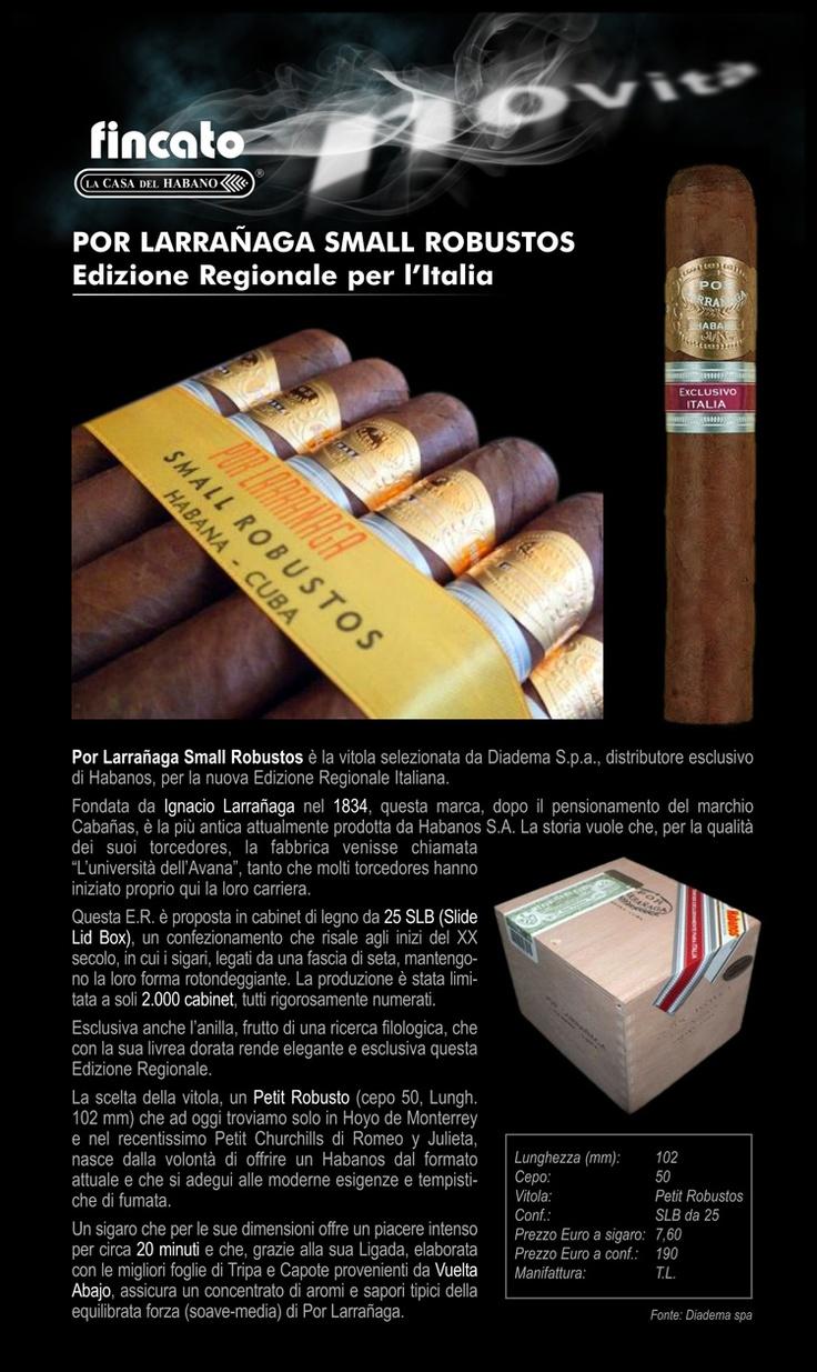Por Larrañaga Small Robustos - Edizione Regionale per l'Italia