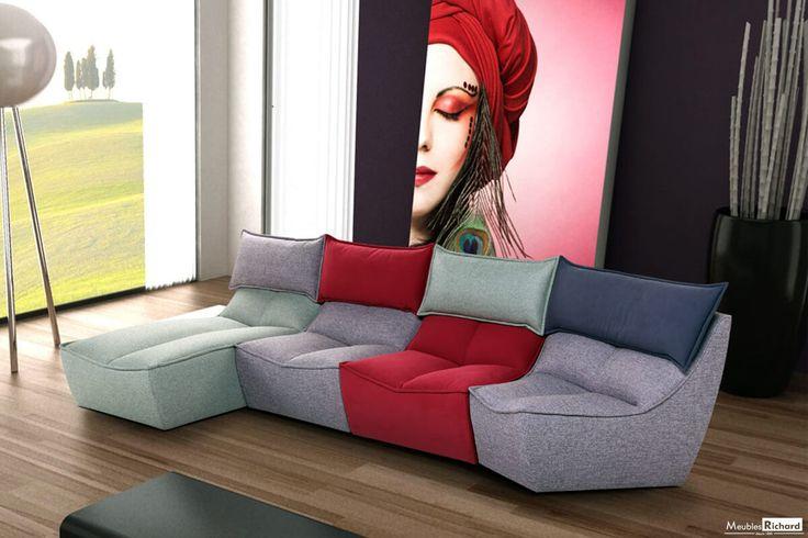 les 25 meilleures id es concernant modulaires en cuir sur. Black Bedroom Furniture Sets. Home Design Ideas