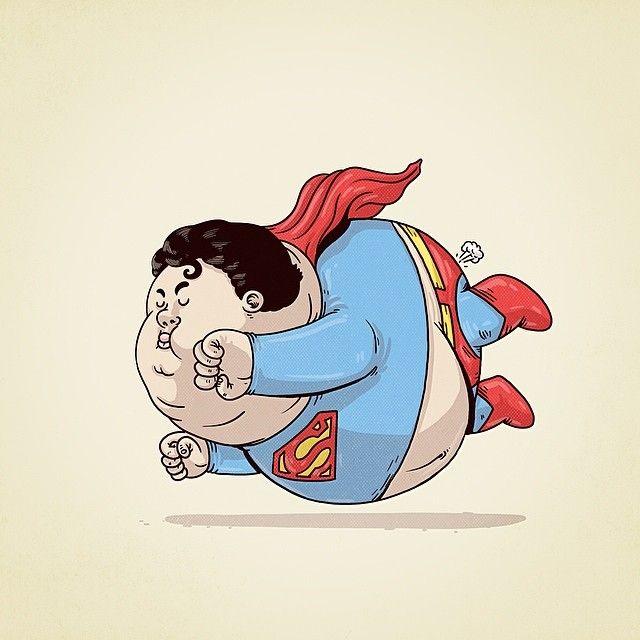 Famous Chunkies by Alex Solis superman