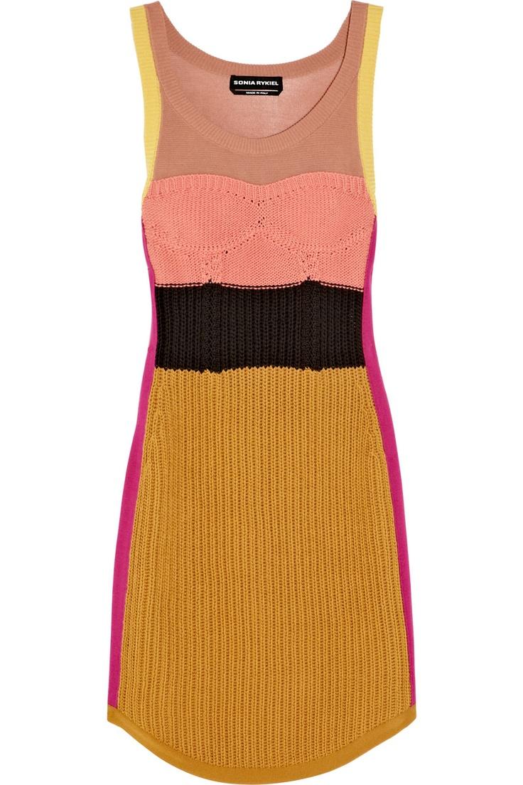 sonia rykiel - knitted dress