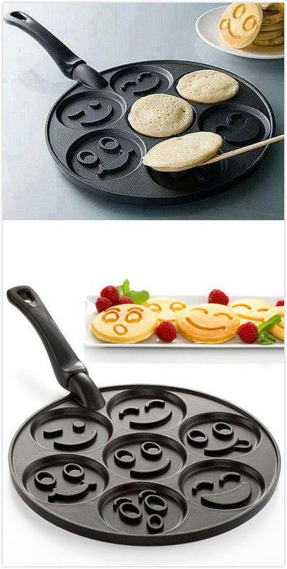 Aluminum Alloy Non-stick Egg Frying Pan Pancakes Baking Tool.