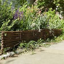 Image result for willow twig trellis | Sloped garden ...
