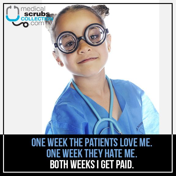 Getting paid whether patients like you or not.
