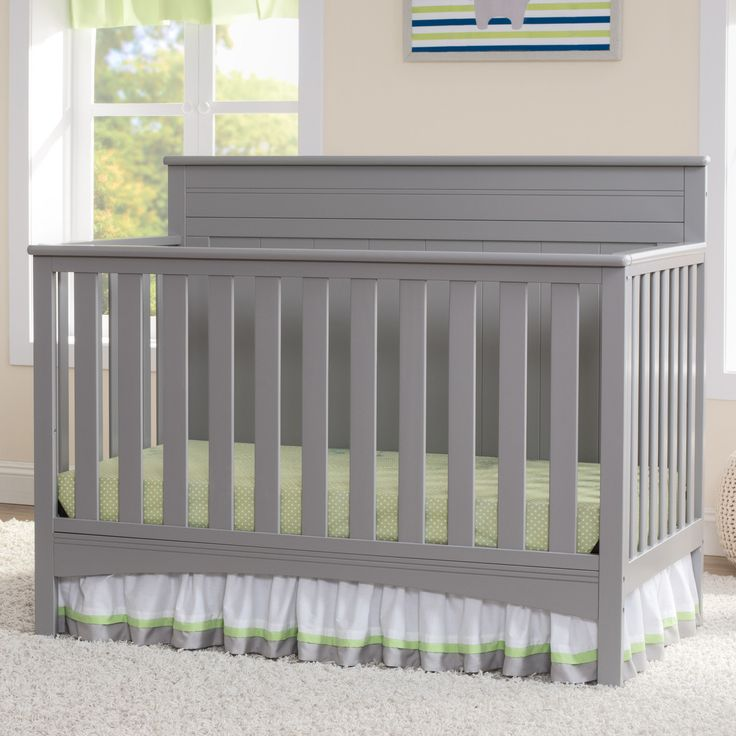 Youu0027ll Love The Fancy 4 In 1 Convertible Crib At Wayfair