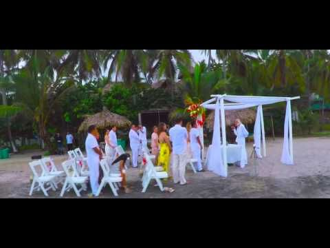 EcoHotel Playa Roca - Palomino, Colombia - YouTube