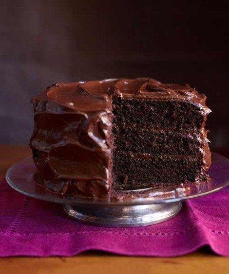 The Best Chocolate Layer Cake You'll Ever Have - My go to recipe since I began cooking in the early 60's, the flavor is unbeatable. It is the best Chocolate Cake recipe ever and easy to make. My grandmother taught it to me but she got it out of the Good Housekeeping Magazine in hte 20's or 30's