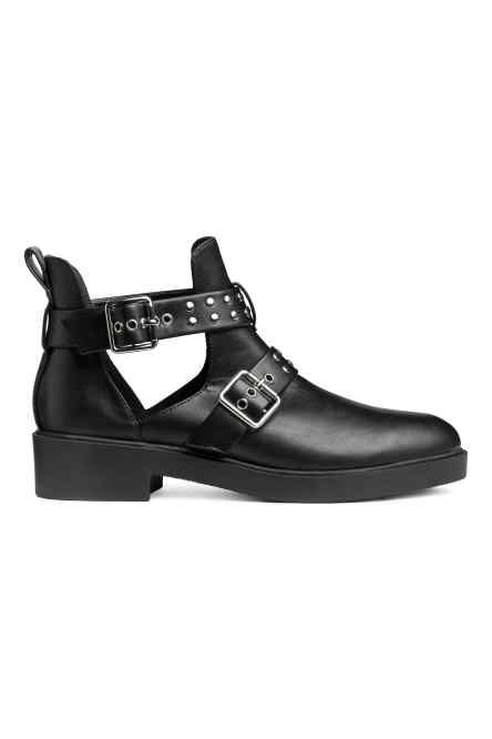 Cut Out Multi Buckled Ankle Boots from H&M R589,99