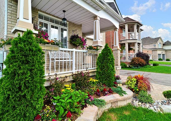 16 best images about front step landscaping on Pinterest Gardens