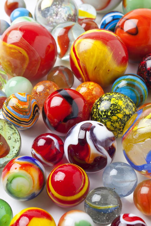 Marbles Close Up Photograph by Garry Gay - Marbles Close Up Fine Art Prints and Posters for Sale