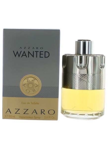 79aa149c69f The extremely confident Azzaro Wanted Eau De Toilette Spray 1.7 oz is for  the man who is unafraid and enthusiastic. This scent is bold and comes from  the ...