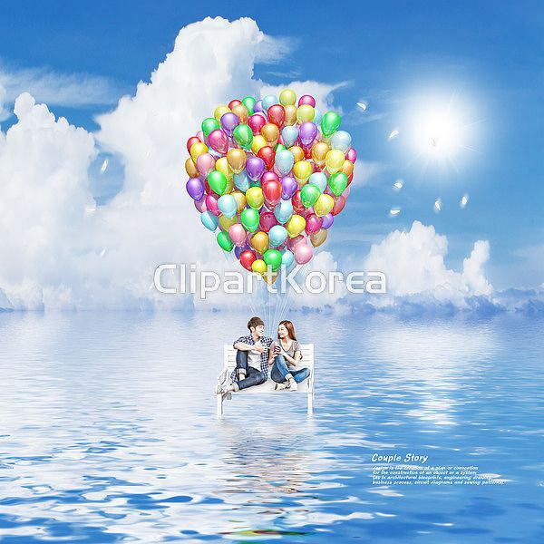 Just Two of us!  #감정 #구름 #미소 #벤치 #사랑  색 #의자 #커플 #태양 #풍선 #합성이미지 #Emotions #cloud  #smile #Love #bench #chair #color #Couple #sun #balloons #composite image CLIPARTKOREA 클립아트코리아 :: 통로이미지(주) www1.clipartkorea.co.kr