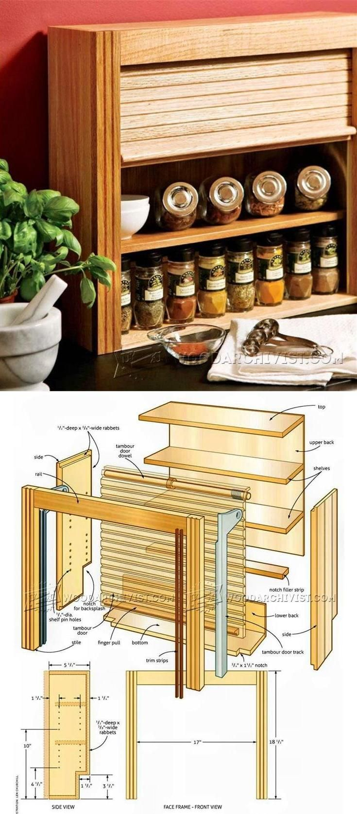 Best 25+ Wooden spice rack ideas on Pinterest | Spice racks ...