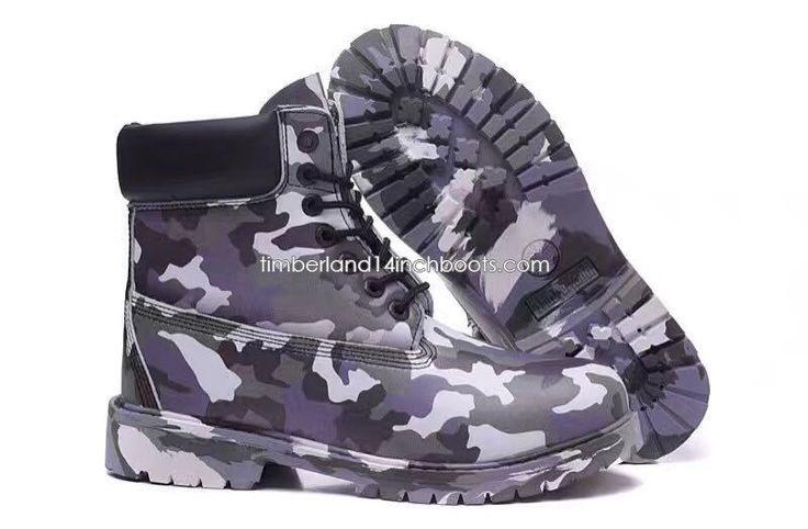 Shipped Free Timberland Men's Basketball Camo Boots-Purple $120