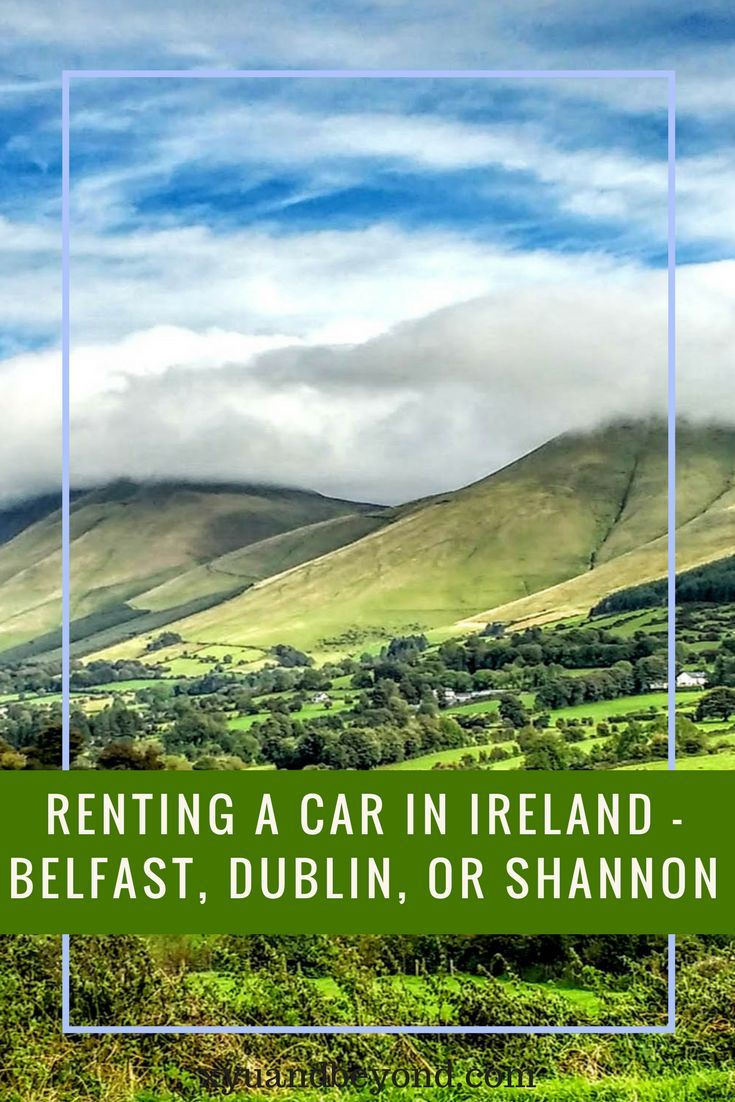 Ireland - renting a car in Ireland can be very painful, so whether you want to rent a car in Northern Ireland or the Republic read this #ireland #rentacarinIreland #visitIreland #travelIreland via @https://www.pinterest.com/xyuandbeyond/
