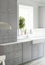 Ikea Bodbyn Grey Kitchen Apartment Therapy
