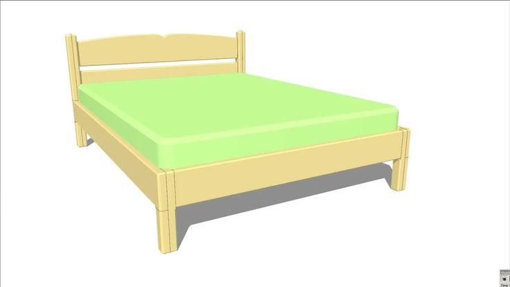 1000 ideas sobre aglomerado de madera en pinterest - Hacer una cama de madera ...