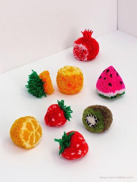 Os dejamos algunas ideas de inspiración para decorar cualquier pequeño rincón con pompones de frutas