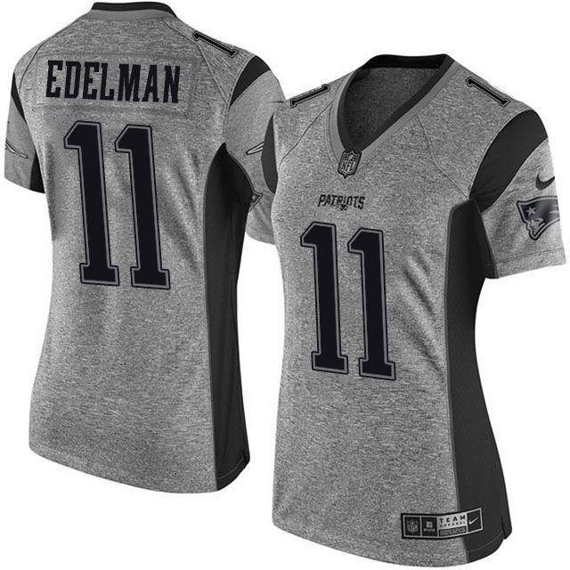 ... Womens New England Patriots Tom Brady Nike Gray Gridiron Gray Limited  Jersey ... 070fee9d4