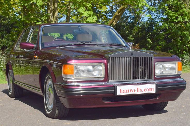 1996 N Rolls Royce Silver Spirit MK IV. Finished in Wildberry with Cotswold interior and Mulberry carpets. This car has only covered 74,000 miles, with Full Service History and has been known to us for over 10 years. Unmarked condition throughout and highly recommended £23,750 Full Details:   https://hanwells.net/rolls-royce-select/rolls-royce-silver-spirit/1996-n-rolls-royce-silver-spirit-mk-iv-in-wildberry-23-750