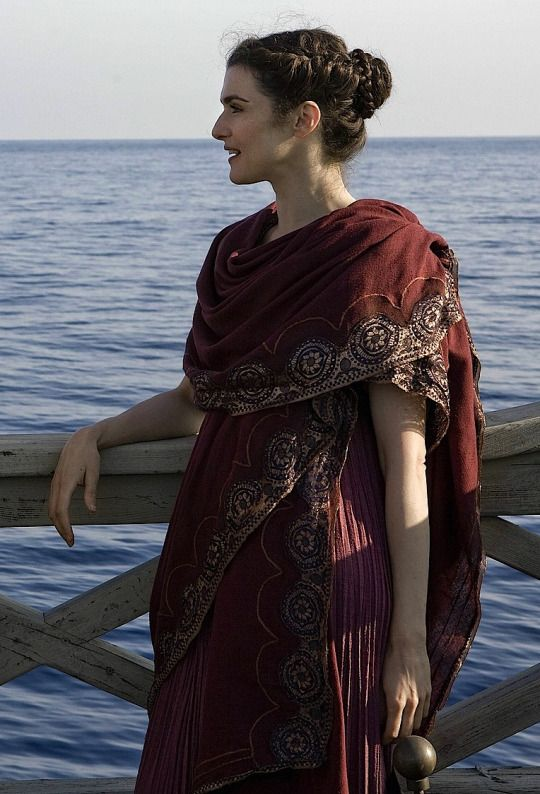 GOT PAID LOTS TO DRESS IN COSTUME AND ACT ❗️❗️❗️❗️.  Rachel Weisz as Hypatia in Agora - 2009