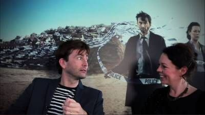 """Broadchurch premieres tonight at 10pm ET / 9 C on BBC America. David Tennant and Olivia Colman let you know what to expect from this beautiful, haunting and emotional drama about the murder and aftermath from the murder of an eleven year old boy.   David Tennant and Olivia Colman Tell Us What To Expect Broadchurch is """"one s..."""