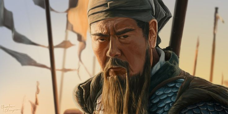 """Played Here by Ba Sen Zha Bu in """"Red Cliff"""" movie, great zoom of his visage about 20min. I like very much this caracter style... Chinese dragon ! In history, it was one of the five Tiger general in..."""