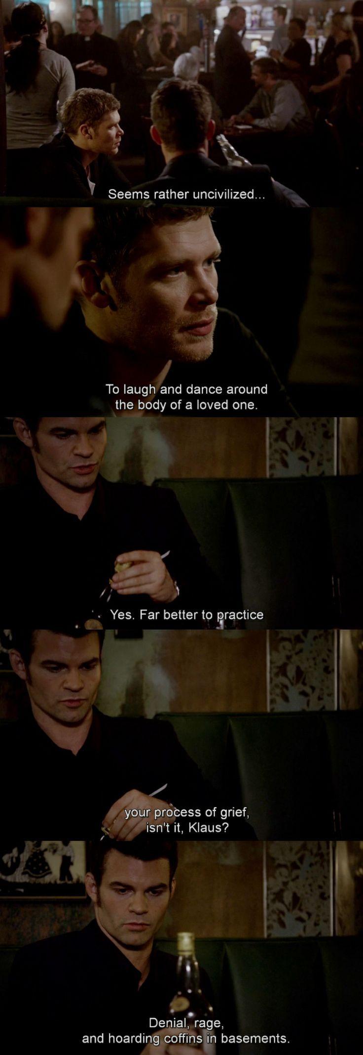 Elijah and Klaus - The Originals