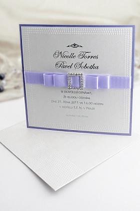 svatební oznámení  wedding invitation card