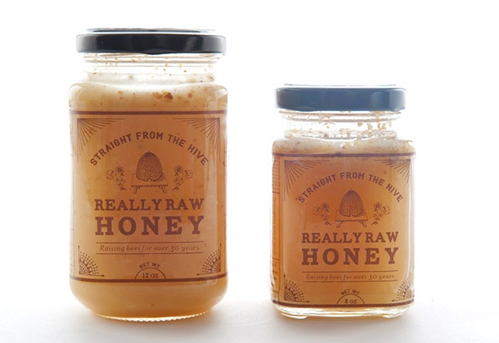 Packaging of the World: Creative Package Design Archive and Gallery: Really Raw Honey Concept
