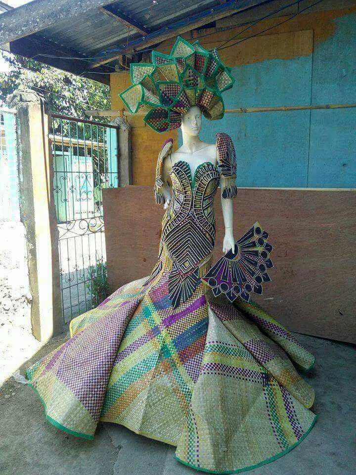 MADE FROM BANIG FIBER | PHILIPPINES NATIONAL COSTUMES in ...