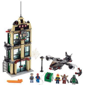 Lego Super Heroes Spider-Man Daily Bugle Showdown (76005)