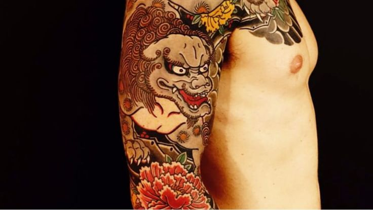 Foo Dogs — The Mythological Lions of Traditional Japanese Tattoos