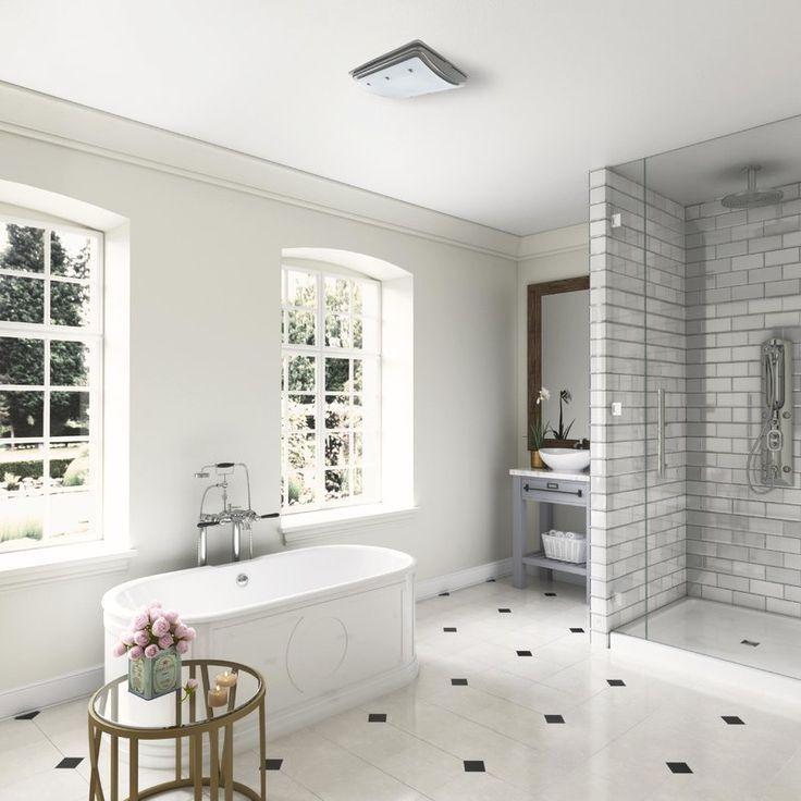 Ellipse 100 Cfm Bathroom Fan With Light And Night Light Badezimmer Innenausstattung Badezimmer Einrichtung Badezimmer Design