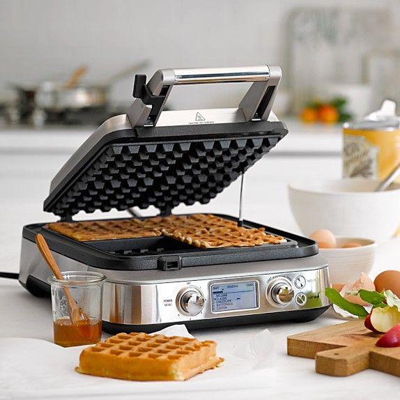 Add to registry!!                                       Breville Smart Waffle Maker | Williams-Sonoma
