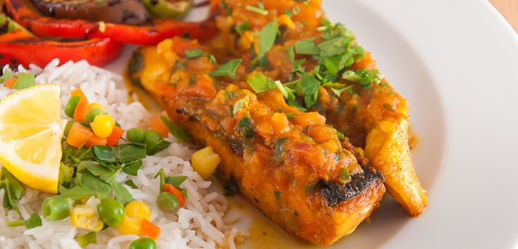 Southwestern Catfish with Corn and Black Bean Stew - #IHeartCatfish