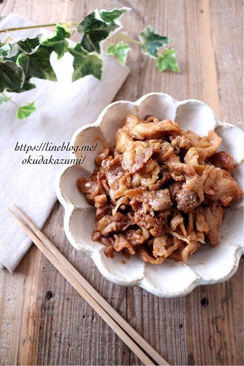 ほったらかしで煮るだけ!豚こま切れ肉の甘辛味噌煮(作りおき)|たっきーママ オフィシャルブログ「たっきーママ@Happy Kitchen」Powered by Ameba