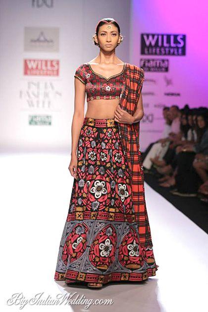 Pia Pauro at Wills Lifestyle India Fashion Week A/W 2014