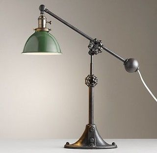 Industrial Era Task Lamp - eclectic - table lamps - by Restoration Hardware Baby & Child