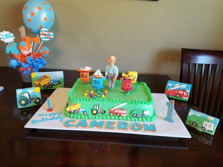 Blippi Birthday Cake