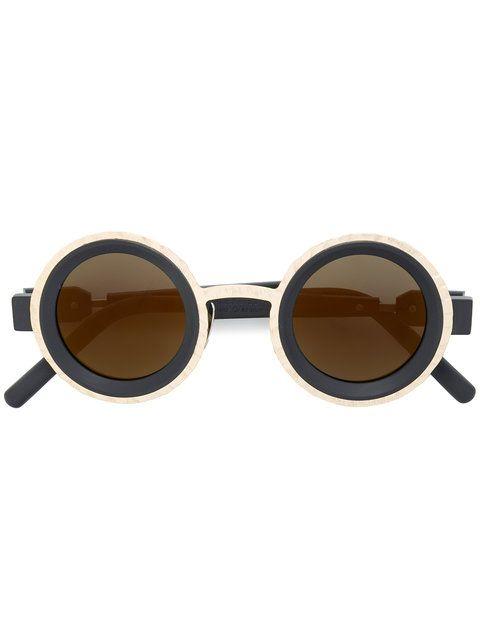 Next Runde Sonnenbrille, silberfarben, Silver Tone