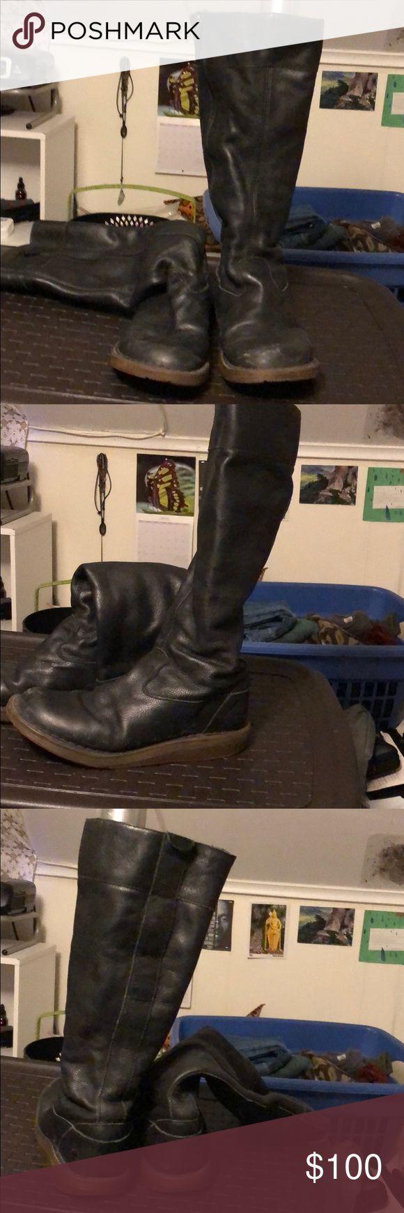 Dr. Martens Größe 8 schwarze kniehohe Stiefel Dr. Martens Größe 8 schwarze