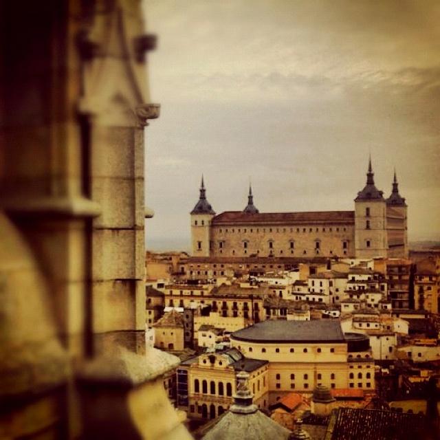 Vista de Toledo desde la 'Campana Gorda' de su Catedral.