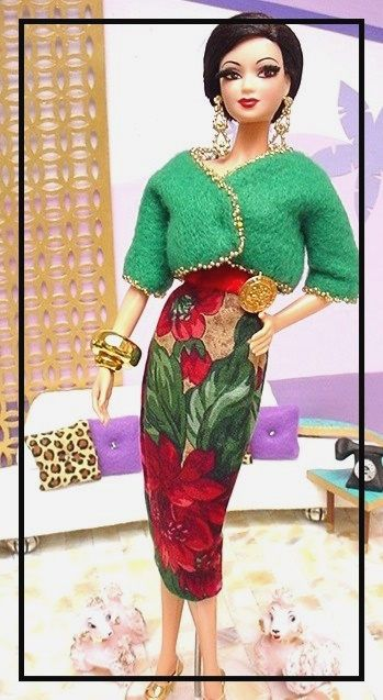ROYAL BAIN de CHAMPAGNE for Silkstone Barbie and Fashion