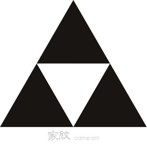 北条氏康の家紋「北条鱗/三つ鱗」