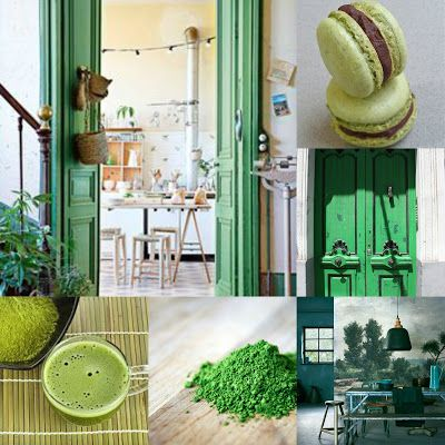 Caroline´s Blog: Matcha Green Everywhere