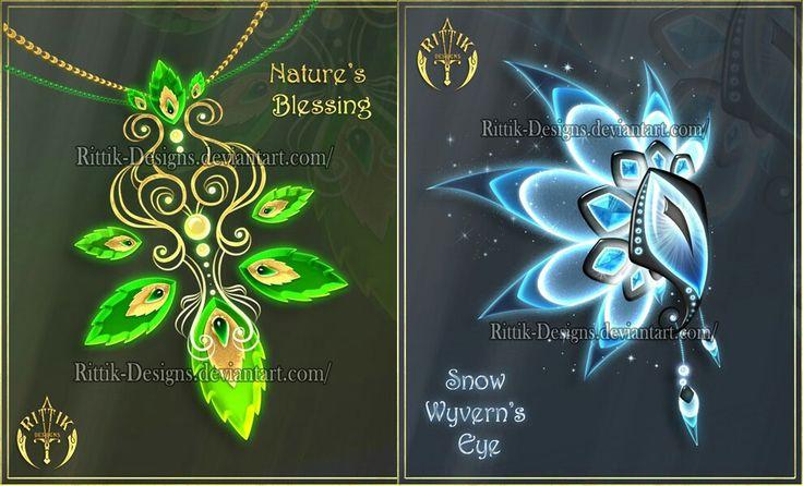 http://rittik-designs.deviantart.com/art/Magic-items-adopts-18-CLOSED-630848917