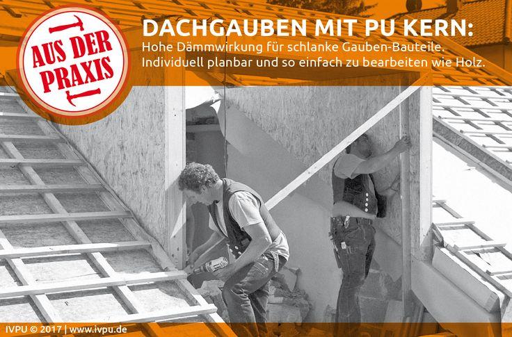 Leistungsfähig und durchdacht – Dachgauben mit PU-Kern. Bauen, Energiewende, Sanieren, Renovieren, Dämmung, EnEV, Polyurethan, Dämmstoffe, Energieeffizienz, Bauphysik, Wärmedämmung, IVPU, PUonline