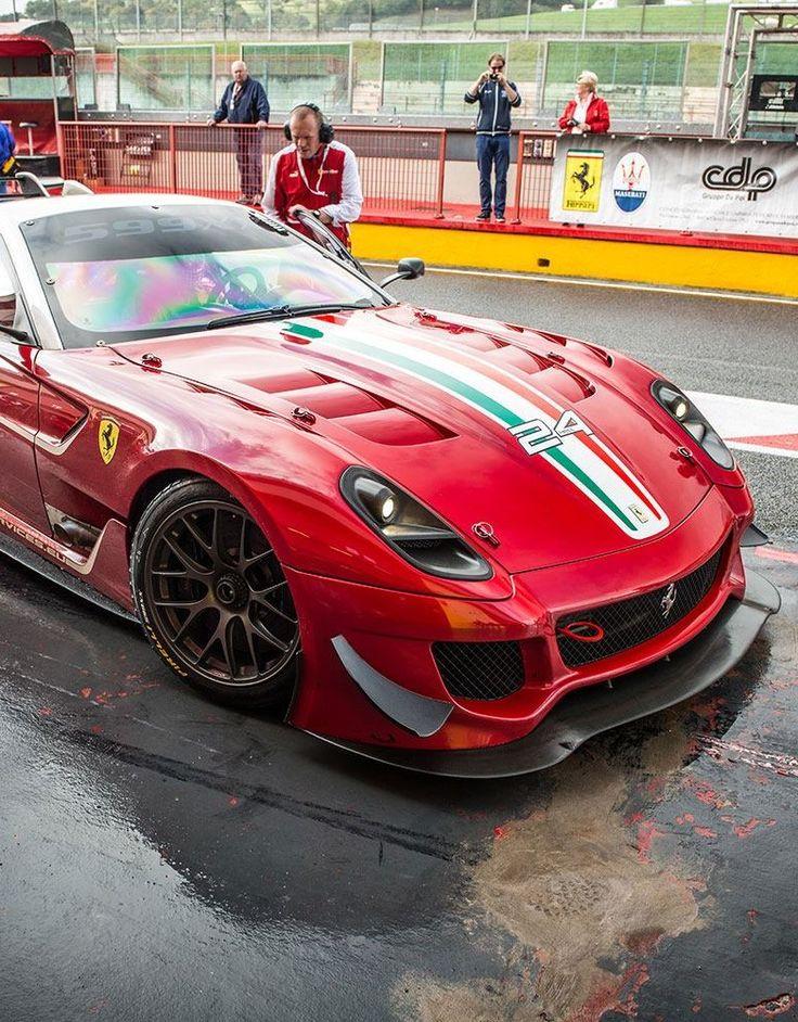 Marvelous Ferrari 599 XX