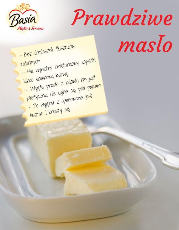Prawdziwe masło