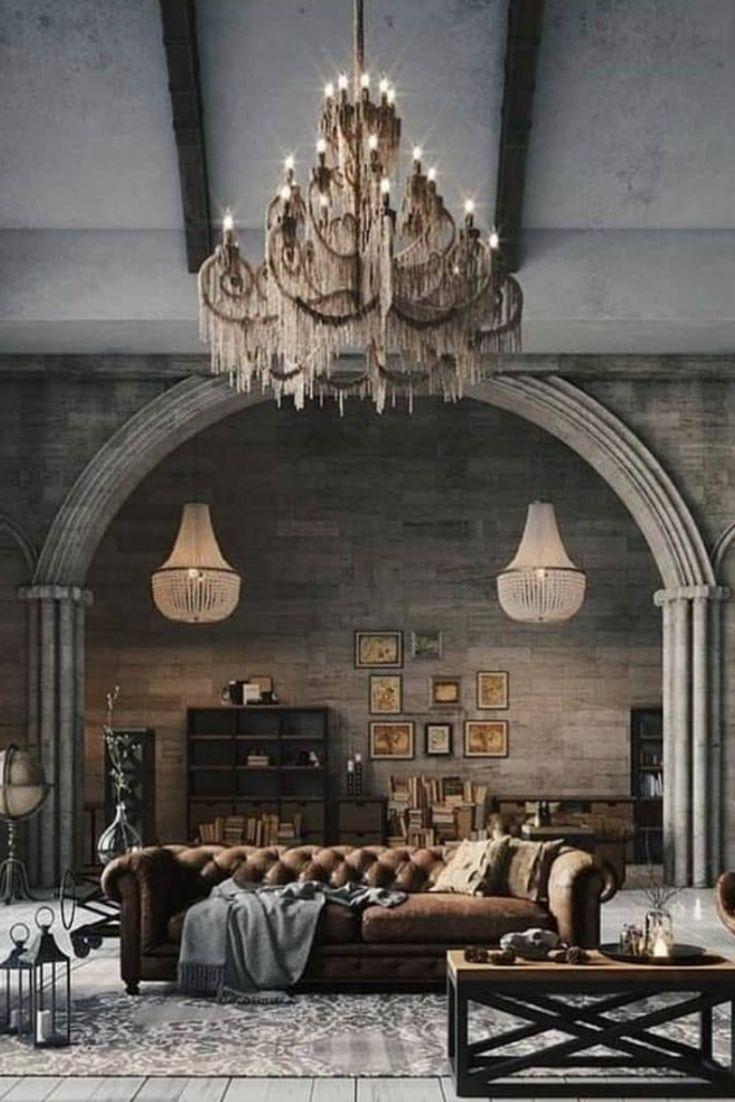 Helpful Ways Of Designing Attractive Industrial Living Rooms